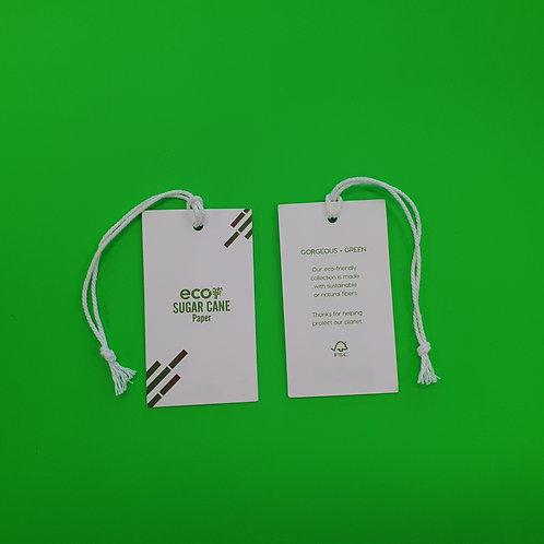 Sugar Cane Paper - Swing Tag