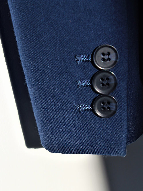 Button. Suit. Timeless classic