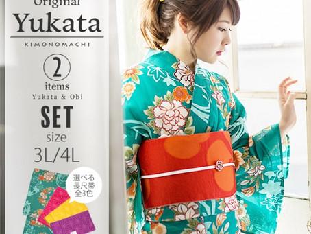 京都の和装ブランドKIMONOMACHI「ふくよかサイズの浴衣」を阪急うめだ本店で期間限定販売!着付けトークイベントも開催