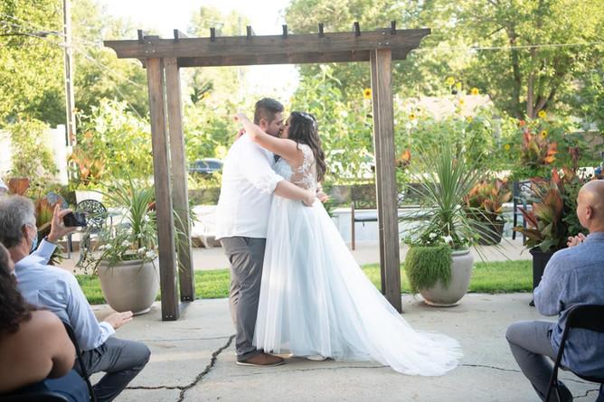 Outdoor Wedding Ceremony Gufler Mansion.JPG