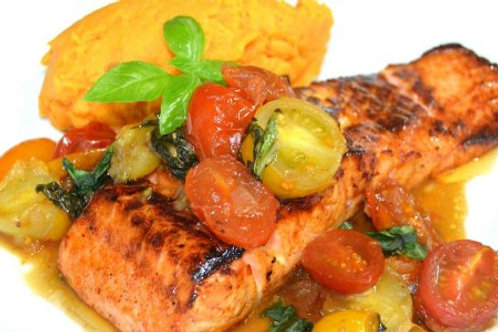 Blackened Salmon -Individual Meal