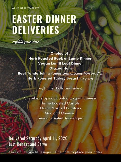 Easter Meal Deliveries