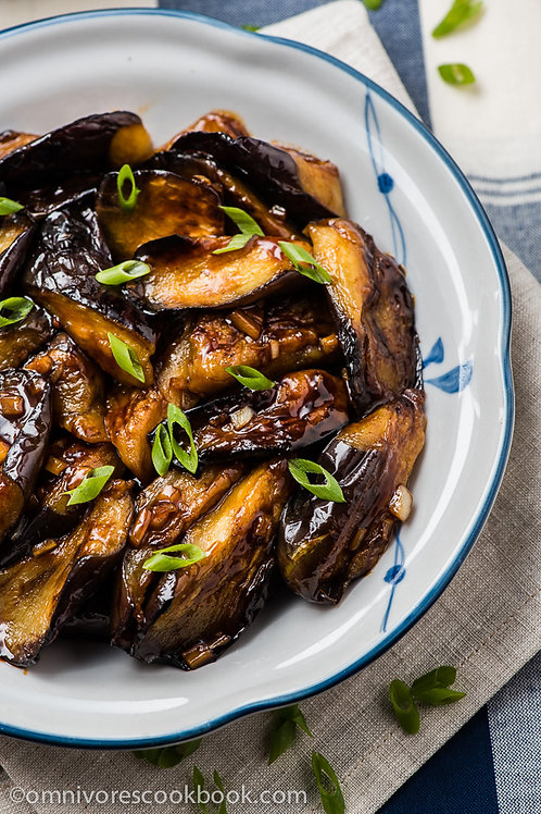 Sichuan Style Eggplant