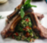 Lamb and Quinoa Tabouli._Perfection._._.