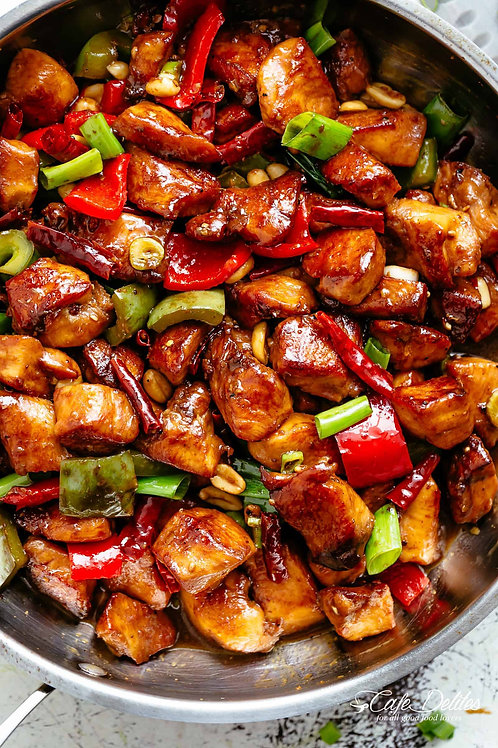 Kung Pao Chicken   - Family Meal