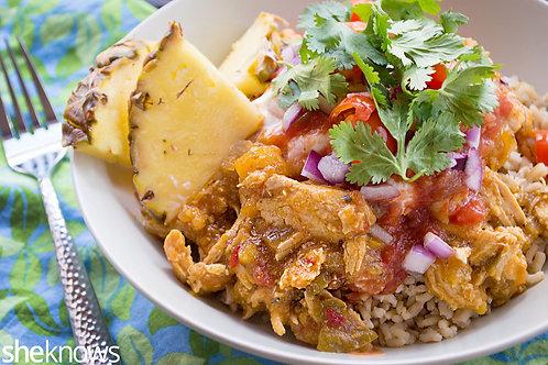 Chicken Burrito Bowl - Family of 4
