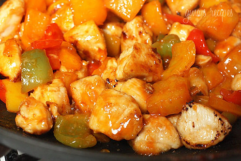 Pineapple and Pepper Chicken - Family of 4
