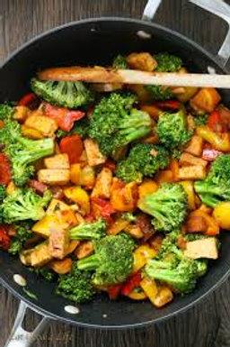 Vegan Stir Fry- Family of 4