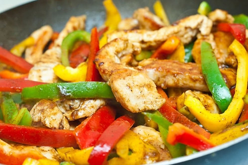Chicken Fajitas - Family of 4