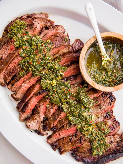 Chimichurri Steak - Family Meal