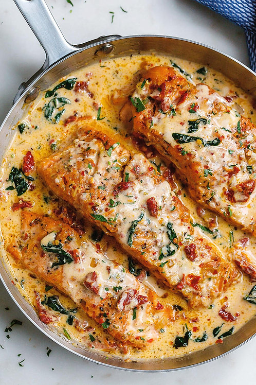 Tuscan Salmon - Family Meal