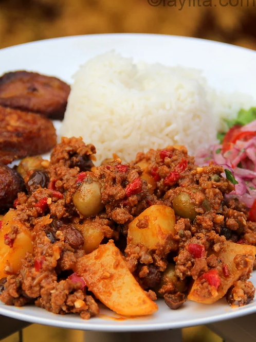 Cuban Style Beef Picadillo- Family Meal