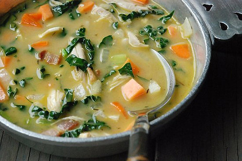 Chicken Veggie Soup - Family of 4