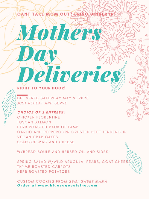 Mothers Day Deliveries