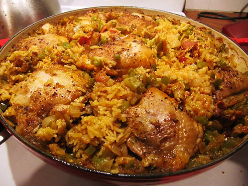 Arroz con Pollo- Family of 4