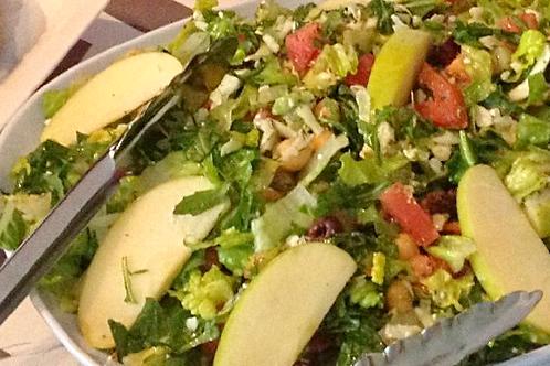 Italian Chopped Salad with turkey breast - Family of 4