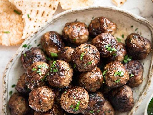 Greek Keftedes - Family Meal