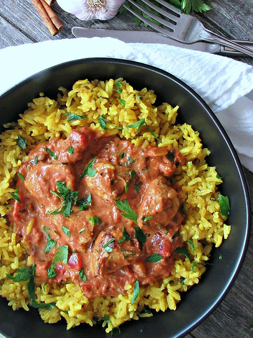 Indian Butter Chicken - Family Meal