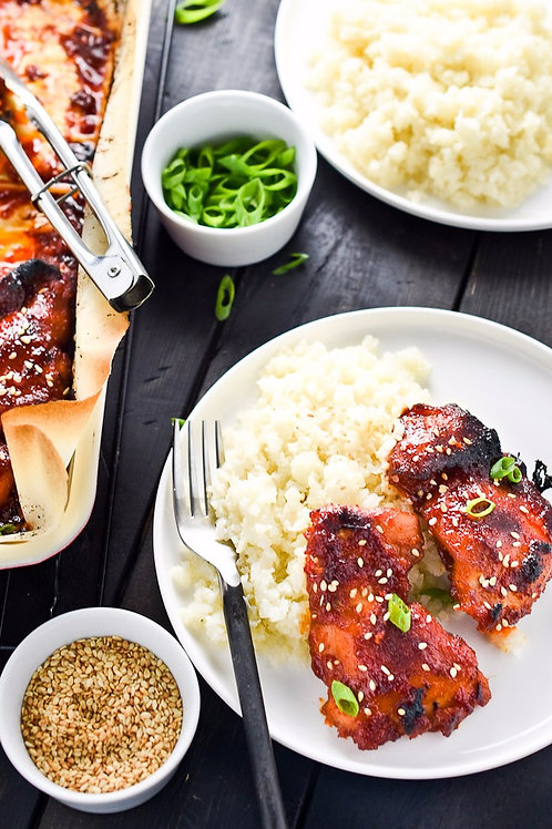 Korean BBQ Chicken - Individual Meal