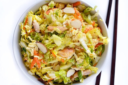 RTH - Asian Salad with Salmon Family of 4