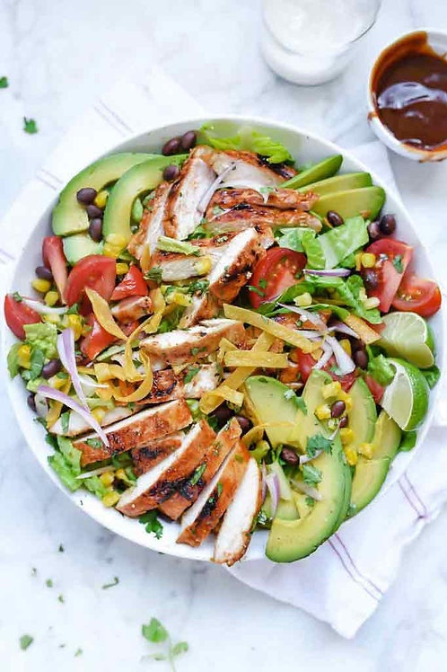 Southwest BBQ Chicken Salad- Family Meal