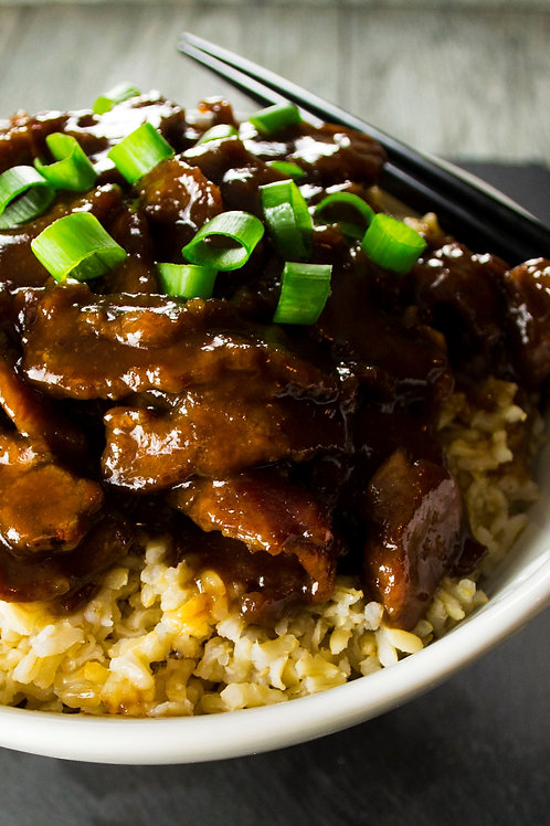 Mongolian Beef - Family of 4