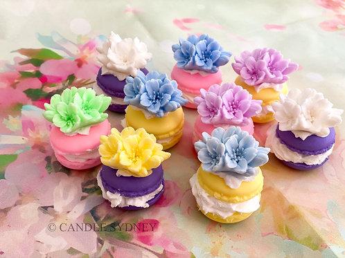Macaroon Flower Soap