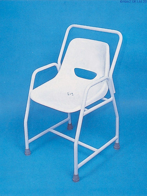 Stationary Shower Chair - Adjustable Height