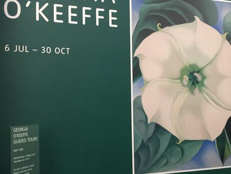 A closing look at Tate's O'Keeffe