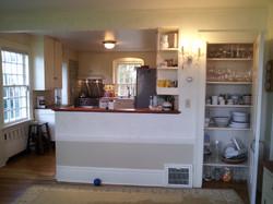 Kitchen Peninsula East Before