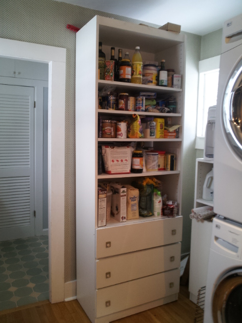 Pantry North Before