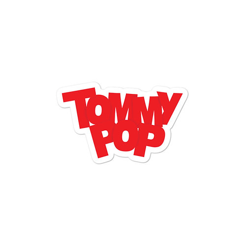 TommyPop Sticker