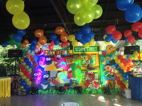 Children's party set-up at bungad biluso Silang Cavite