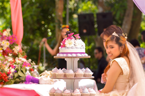 Wedding cupcake bungad biluso Silang Cavite