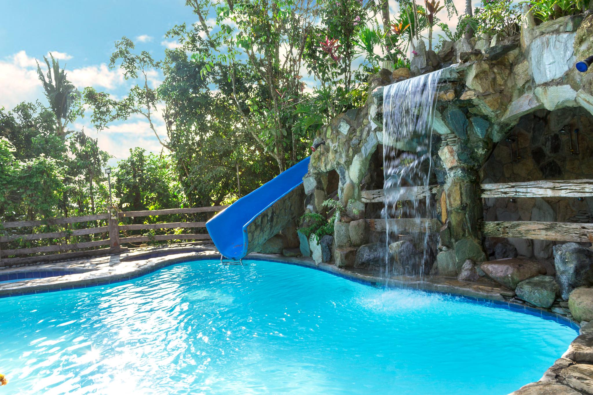 Batis Pool slide falls bungad biluso