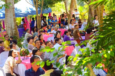 Day wedding reception bungad biluso Silang Cavite