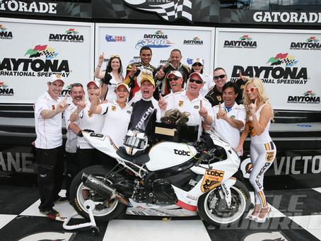 TOBC Racing Wins Daytona 200