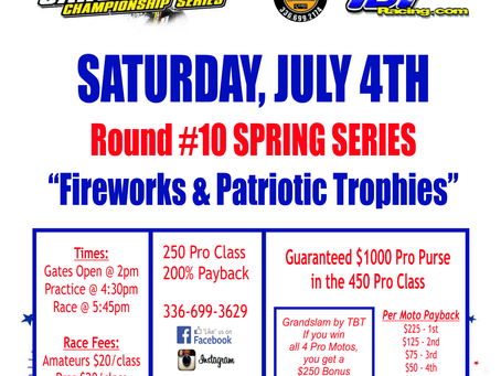 Independence Day Shootout at East Bend MX