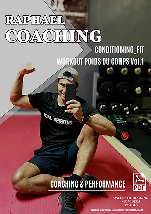 Conditioning_fit Workout Poids Du Corps vol 1