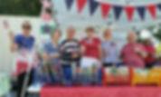 Flag Day June 14 Patty Kathy Karen Lee B