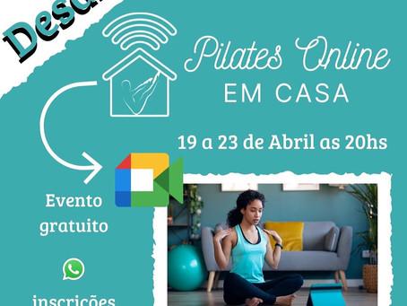 Desafio Pilates On-line em Casa