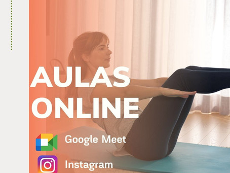 Pilates on-line. Será o novo normal?