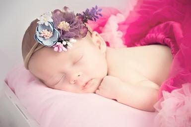 pink tutu newborn baby