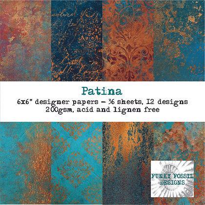 Patina 6x6 Paper Pad