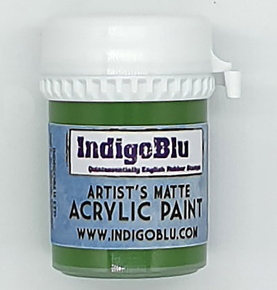 IndigoBlu Artist Matte Acrylic Paint - Run Forrest Run, 20ml
