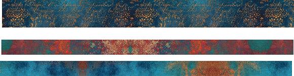Patina Washi Tape x 3 rolls