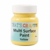 That's Crafty! Multi Surface Paint - Yellow