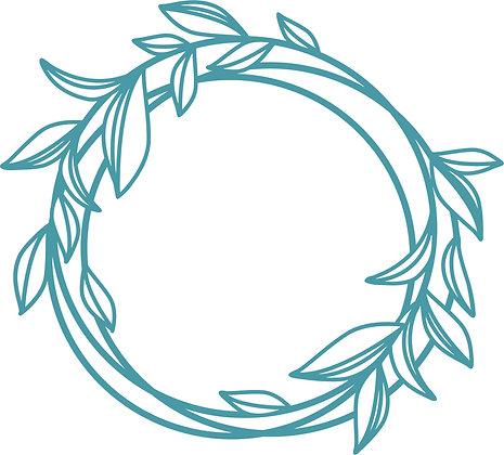 Leafy Circle Die