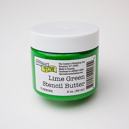 TCW Lime Green Stencil Butter