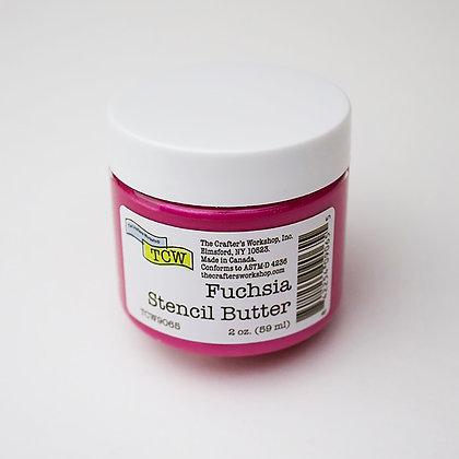 TCW Fuchsia Stencil Butter
